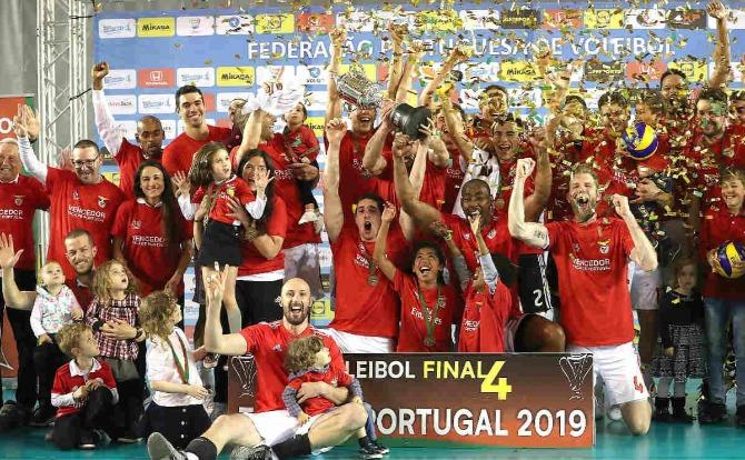 Blogs Benfica vencedor da Taça de Portugal de Voleibol