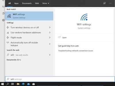 Cara Mengaktifkan WiFi Internet di Windows 10