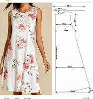 Patrones y medidas de diversas prendas femeninas