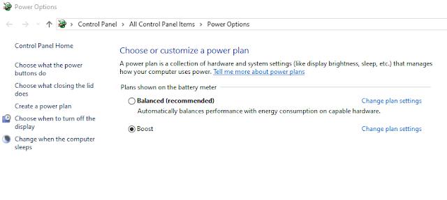 create power plan