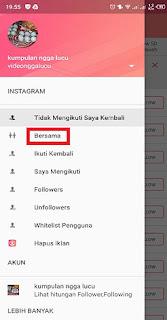 cara mengetahui following instagram yang tidak follback