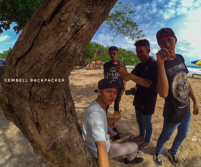 Camping Gokil di Pantai Siung Gunung Kidul Jogjakarta