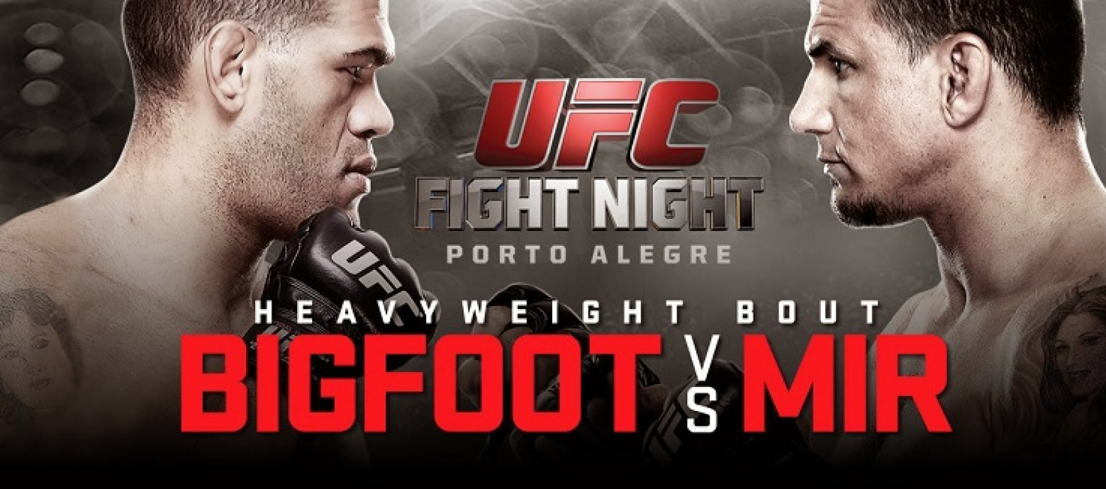 UFC Fight Night Bigfoot vs Mir