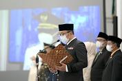 Gubernur Lantik Dua Kepala Daerah Periode 2021-2026