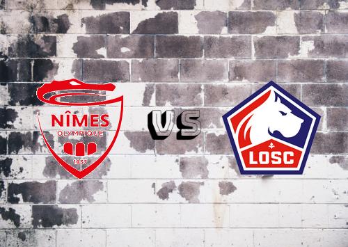 Nîmes vs Lille  Resumen
