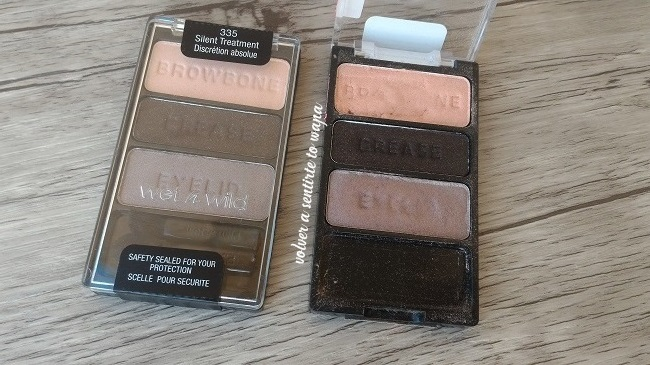 Paleta de sombras de ojos Silent Treatment de Wet n' Wild