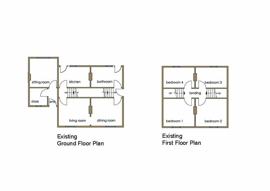Lf design enterprises planning applications drawings for Floor plans for planning applications