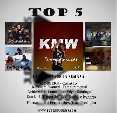 TOP 5 (Lançamentos da Semana 01 á 5 de Dezembro)