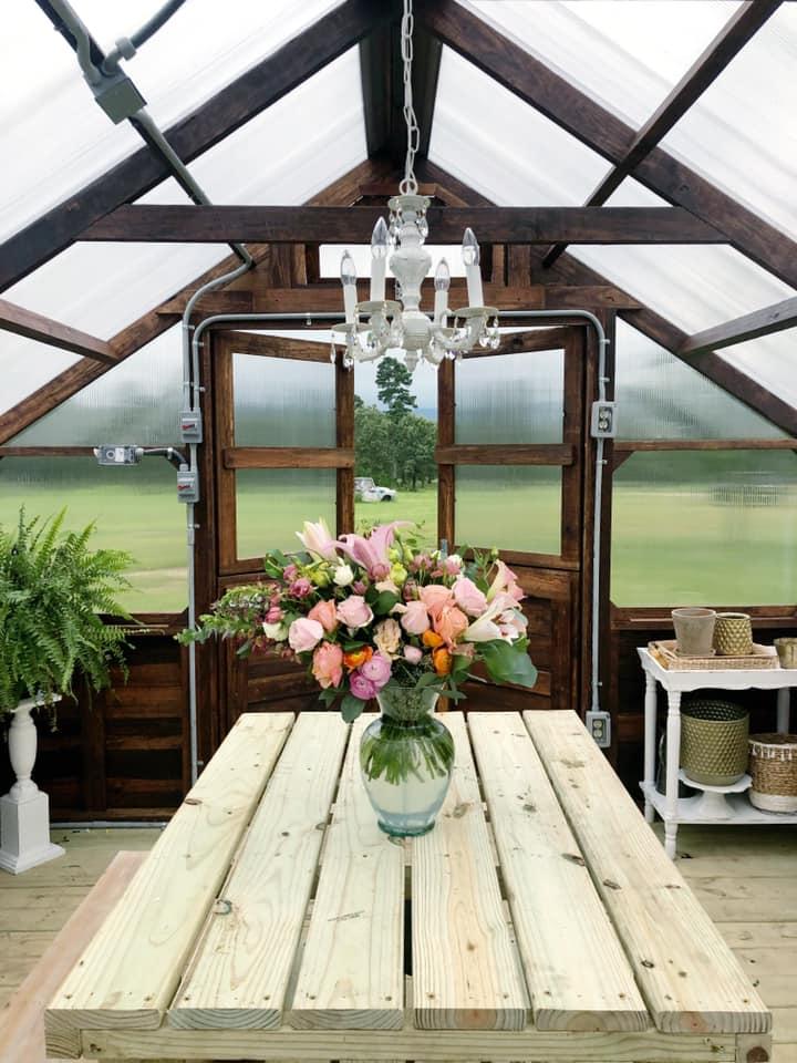 Yoderbilt Greenhouse Farmgirl Flowers