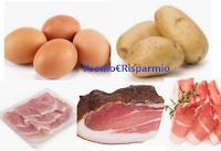Logo Ricette economiche #iorestoacasa con patate, uova, prosciutto o speck