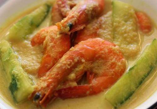 Resepi Udang Masak Lemak Best!!