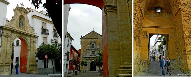 Bairro de San Fernando e Porta de Almodóvar, Córdoba, Andaluzia