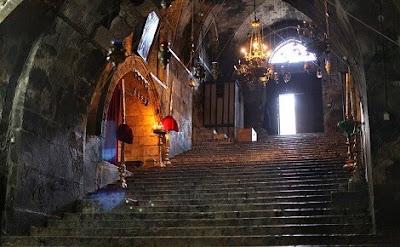 Ο Τάφος της Παναγίας στην Γεθσημανή