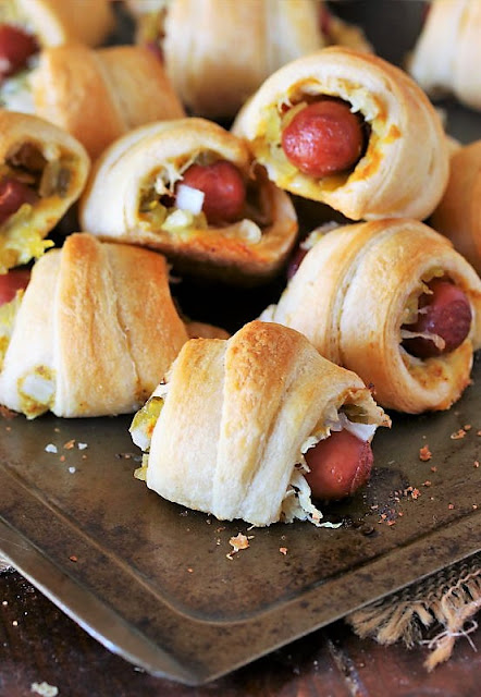 The Works Pigs In a Blanket on Baking Sheet Image
