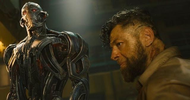 Andy Serkis fue Klaue en Avengers: Age of Ultron