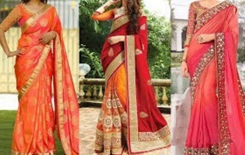 How to Wear Saree Perfectly for Party with Thin Perfect Pleats | Perfect Wedding Makeup and Hairstyle