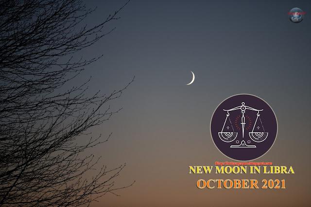 New Moon in Libra October 2021   Trăng non tháng 10
