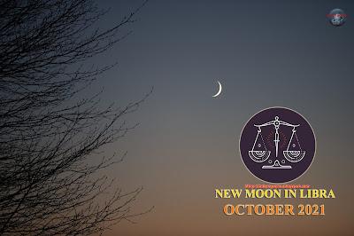 Trăng non Thiên Bình,trăng non tháng 10,New Moon in Libra, Libra new moon Rituals