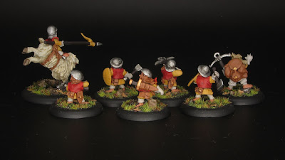 Knight of the Ram, Halfling Militia and Monster Hunter
