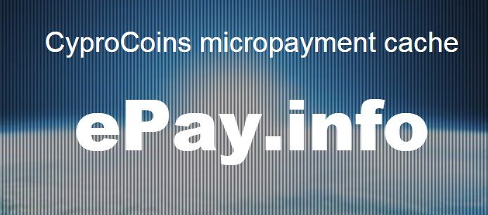 ePay Micropayments