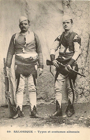 Two Albanian Men in Salonica