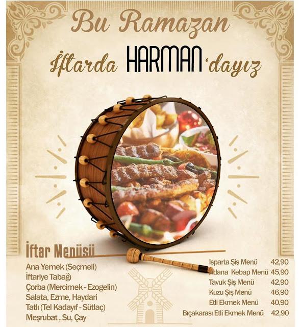 harman etli ekmek ısparta iftar menüleri isparta iftar mekanları