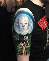 tatuaje para halloween it el mejor tatuaje de eso