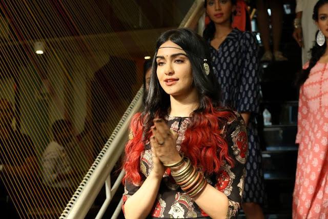 Adah Sharma At Craftsvilla Indian Ethic Wear Fashion Show Stills
