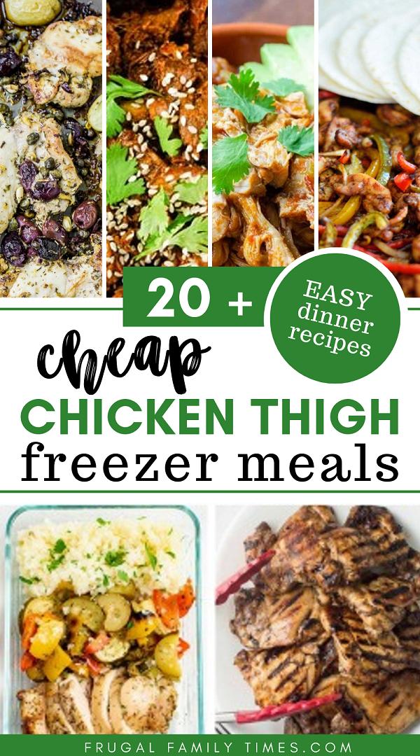 chicken thigh freezer meals
