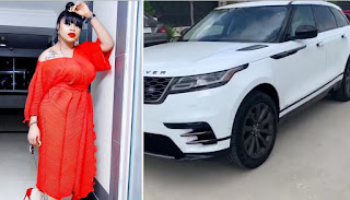 My birthday  party can be shutdown, but not my success - Bobrisky says as he shows off 2019 Range Rover