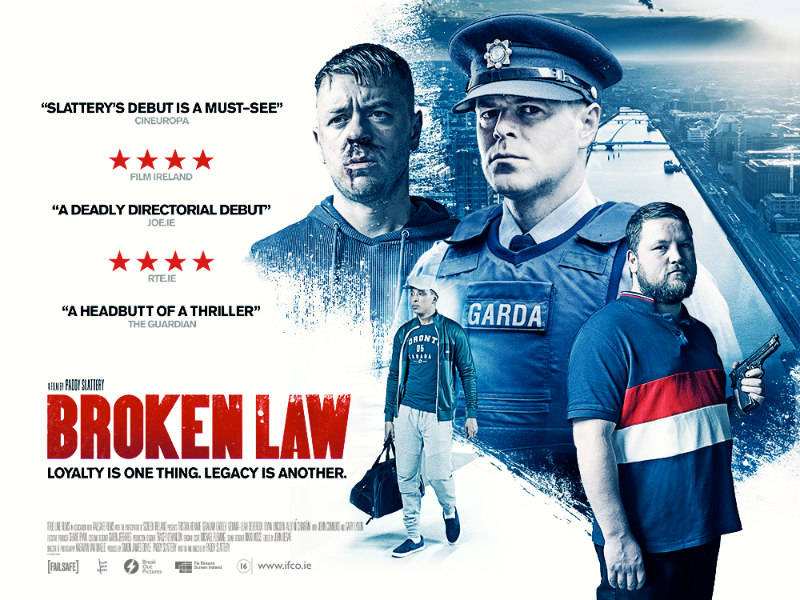 broken law film poster