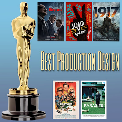 Best Production Design Academy Awards nominees