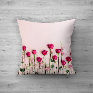 coral cushion covers