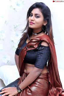Priya Augustin in saree amazing cute beauty hq .xyz Exclusive Pics 001
