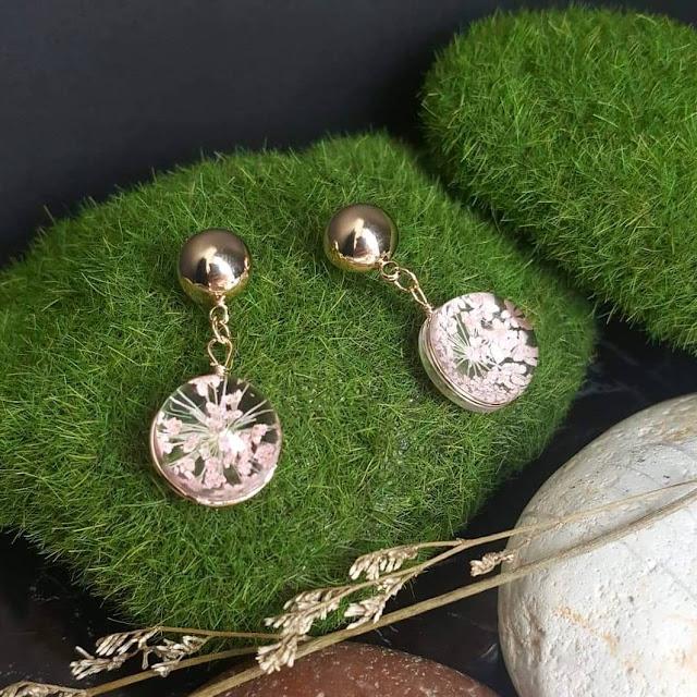 CANTIK, Dijual perhiasan emas imitasi impor cantik berkualitas KWANG EARRING, Toko Online Jakarta