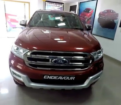Ford Endeavour front