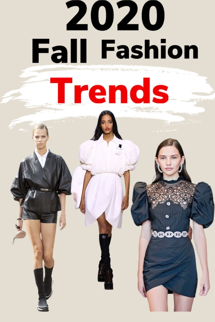 10 FALL FASHION TRENDS 2020 TO WEAR NOW!