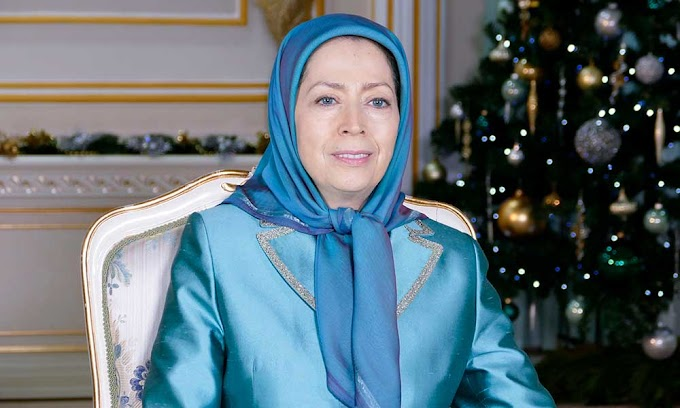 Message of Maryam Rajavi on Christmas and the New Year. 2019 would be a year of advancement of resistance and uprisings towards freedom and victory.