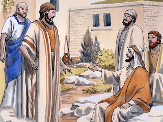 Jesus' first disciples 10