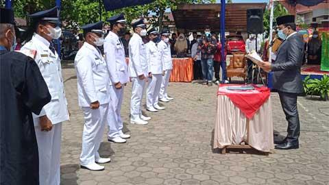 Enam Walinagari se-Kecamatan Koto XI Tarusan Dilantik