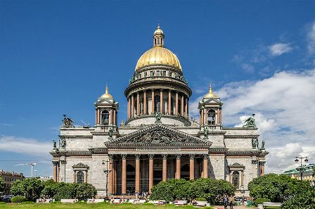 Katedral Saint Isaac, Saint Petersburg
