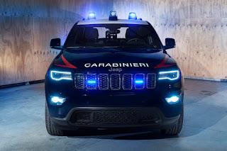 Jeep Grand Cherokee Carabinieri (2018) Front