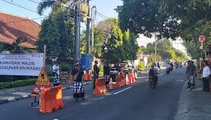 Hari Kedua PKM Desa Dangri Kangin, Sinergitas Satgas Banjar, Peringati 10 Orang Masyarakat Tanpa Masker