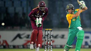 AB de Villiers 107* vs West Indies Highlights