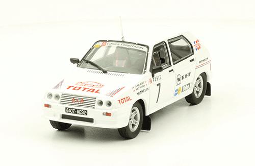 collezione rally monte carlo Citroën Visa 1000 Pistes 1985 J. Andruet - A. Peuvergne