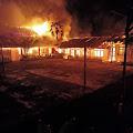 Kebakaran SMP N 1 Motoling kerugian Capai Milyaran Rupiah
