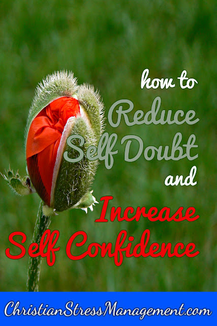 How to reduce self doubt and increase self esteem