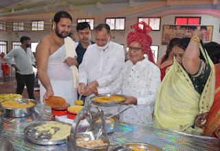 श्री मोहनखेड़ा महातीर्थ में षाष्वत नवपद ओलीजी आराधना सम्पन्न