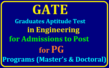 GATE 2020 Admissions, Registrations for PG Master's, Doctoral Program end on October 1 /2019/07/GATE-2020-Admissions-Registrations-for-PG-Masters-Doctoral-Program-end-on-October-gate.iitd.ac.in.html