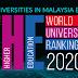 "Times Higher Education released ""World University Rankings 2020"""